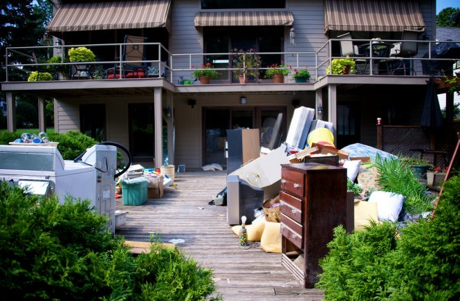 decluttering and natural disasters